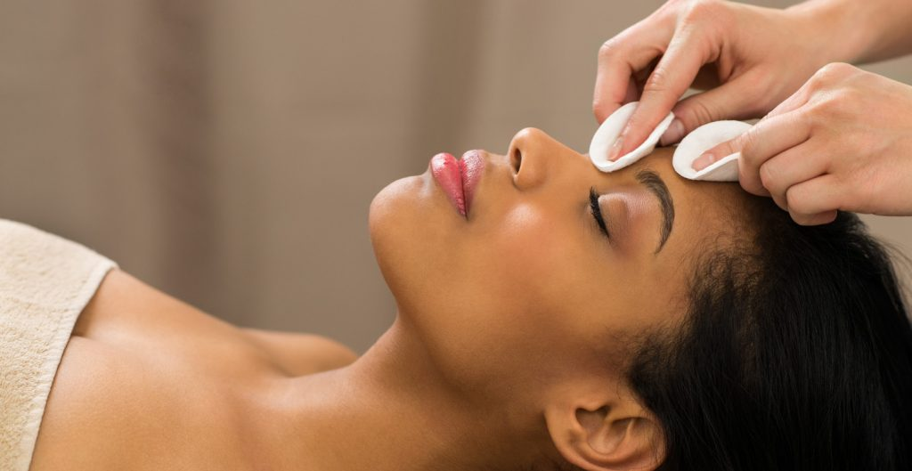 Facials are offered at Elkes Day Spa in Ramstein!