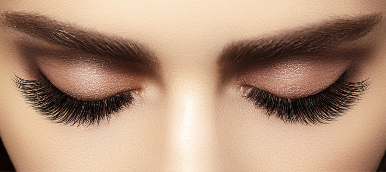 Eyebrow and eyelash styling is one of several spa treatments I offer at Elkes Day Spa in Ramstein.